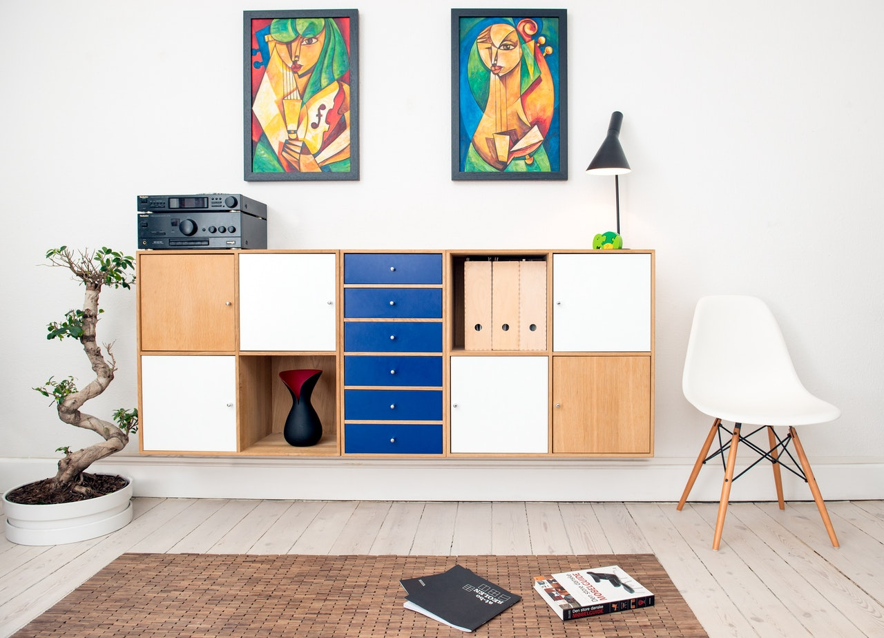 meubels in huis